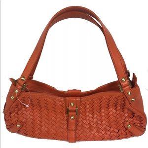 Cole Haan Terracotta Village Weave Hobo Bag